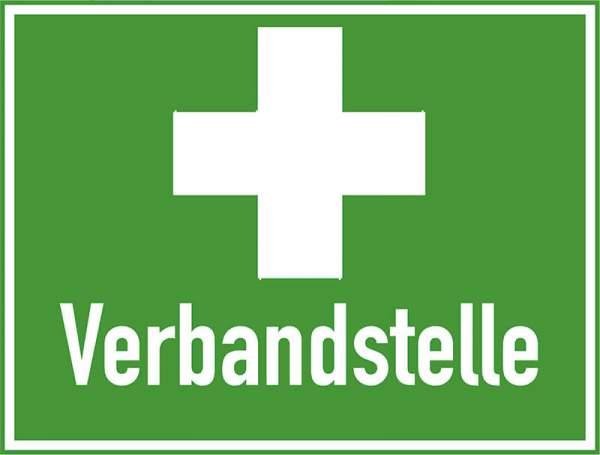 Rettungszeichen - Verbandstelle