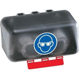 Aufbewahrungsbox SecuBox Mini. Transparent
