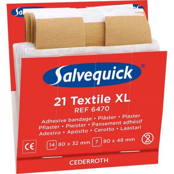 Salvequick Füllung Pflasterstrips XL, für Pflasterspender