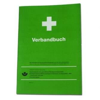 Verbandbuch DIN A4 Hochformat