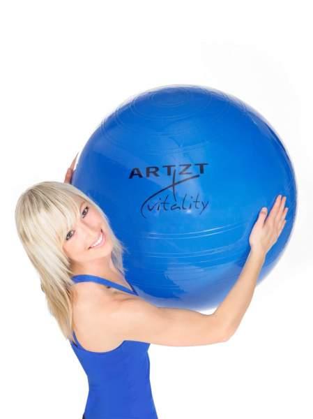 ARTZT vitality Fitness-Ball Standard in Blau